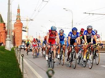 Из-за велосоревнований в Москве перекроют несколько улиц