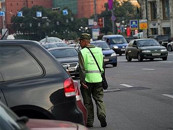 В Москве задержаны 400 нелегальных парковщиков