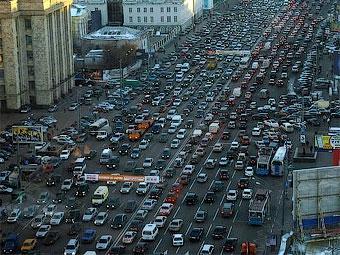 Автопарк Москвы достиг 3,5 миллиона автомобилей