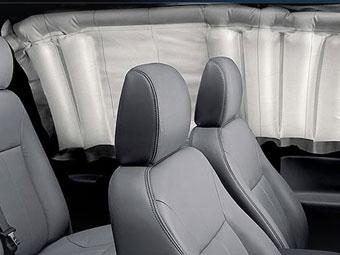 К 2013 году все машины в США будут оснащены боковыми подушками безопасности
