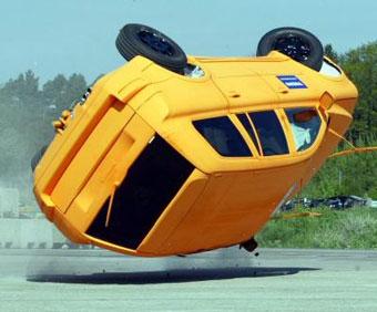 К 2012 году все машины в Америке будут оснащены системой стабилизации