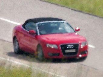 Появились первые фотографии кабриолета Audi A5