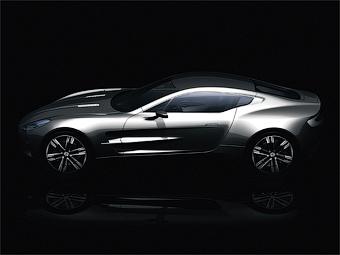 Стали известны размеры суперкара Aston Martin One-77