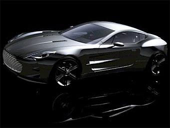 В интернете показали изображения нового суперкара Aston Martin