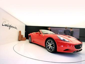 Ferrari California раскупили на два года вперед