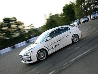 Объявлены российские цены на Mitsubishi Lancer EVO X