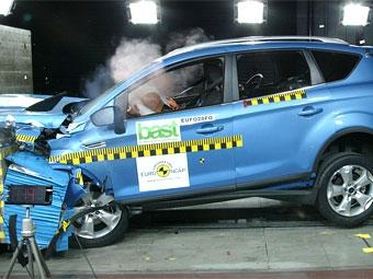 Методика оценки краш-тестов Euro NCAP изменится в 2009 году