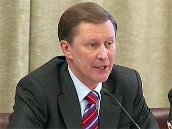 Сергей Иванов предложил засекретить строительство платных дорог