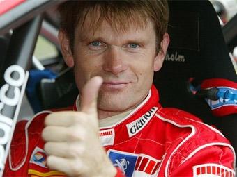 Маркус Гронхольм примет участие в финском ралли-спринте