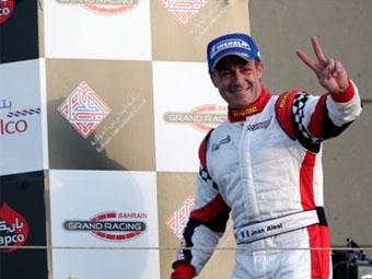 Жан Алези выиграл первую гонку этапа Speedcar в Дубае