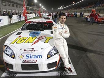 Марко Меландри продолжит выступления в Speedcar