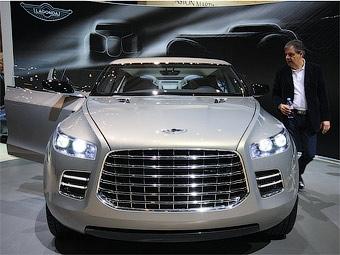 Новый концепт-кар Lagonda появится в мае