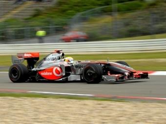 Хэмилтон превзошел время Уэббера во второй практике Гран-при Германии
