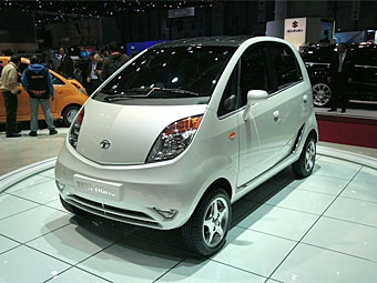 Компания Tata решила не продолжать строительство завода для выпуска Nano