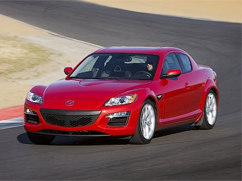 Mazda привезет во Франкфурт обновленное купе RX-8