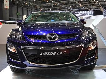 В Женеве показали обновленный кроссовер Mazda CX-7 с дизельным мотором