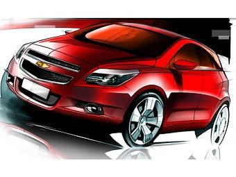 Компания Chevrolet показала первые изображения нового хэтчбека