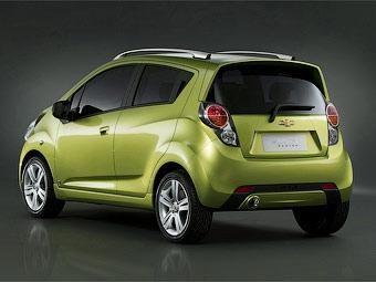 Новый Chevrolet Spark дебютирует в Женеве