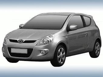 Трехдверную версию хэтчбека Hyundai i20 покажут в Женеве