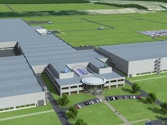 VW потратит на завод в Калуге более миллиарда евро