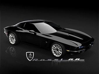 В Америке появится еще один ретро-кар на базе Chevrolet Corvette