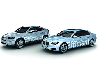 BMW представит во Франкфурте серийные гибриды 7-Series и X6