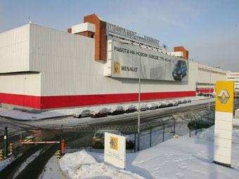 Правительство Москвы снизит налог на прибыль для завода Renault
