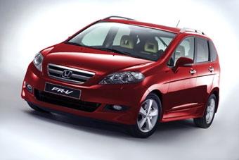 Honda представила обновленный FR-V