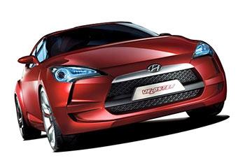 Hyundai показала в Сеуле молодежное купе