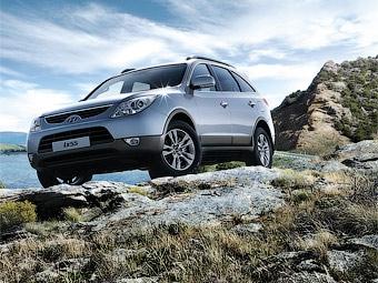 В России начались продажи дизельной версии внедорожника Hyundai ix55