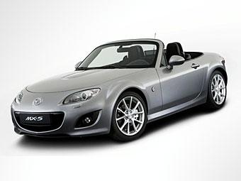 Появилась первая фотография обновленного родстера Mazda MX-5