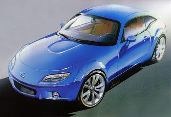 Mazda построит кроссовер на базе MX-5 к автошоу в Париже