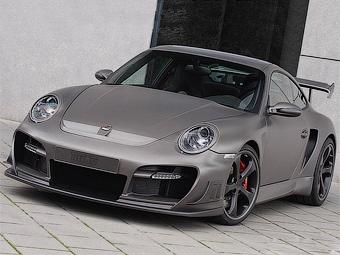 """Ателье Techart представило """"заряженный"""" Porsche 911 Turbo"""