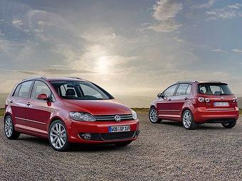 В России начались продажи обновленного компактвэна VW Golf Plus