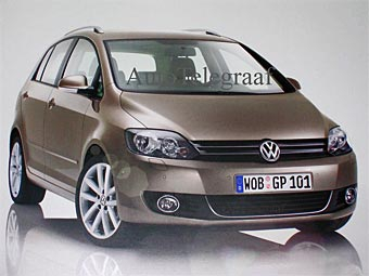 VW случайно рассекретил новый Golf Plus