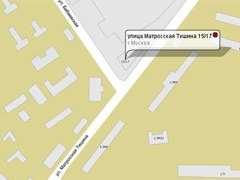 На улице Матросская тишина в Москве провалился грунт
