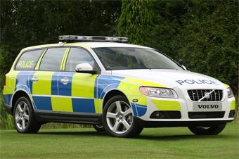 Британская полиция пересаживается на дизельные универсалы Volvo