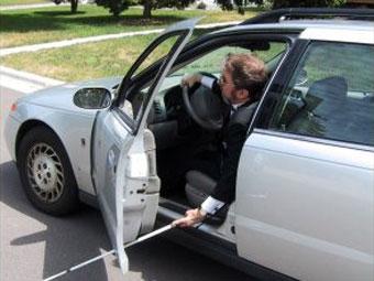 Создан автомобиль для слепых водителей