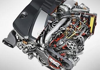 """Mercedes-Benz во Франкфурте покажет """"дизель-бензиновый"""" двигатель"""