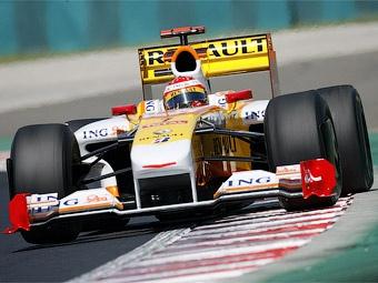 """Команде """"Формулы-1"""" Renault разрешили участвовать в Гран-при Европы"""