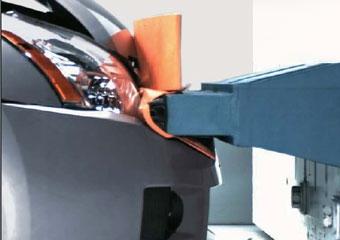 В США испытали автомобильные бамперы на прочность
