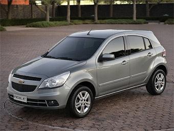 Концерн GM разработал для Южной Америки новую модель Chevrolet