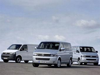 Volkswagen обновил четыре коммерческих автомобиля