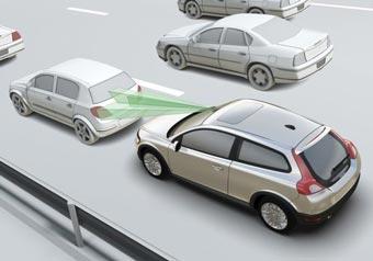 Volvo нашла способ защитить машины от столкновений в городе