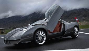 Spyker представил в Женеве эксклюзивный суперкар и серийный внедорожник