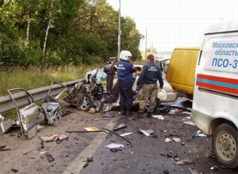 Почти все аварии в России происходят из-за несоблюдения ПДД