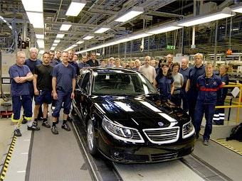Saab продал оборудование для производства модели 9-5 китайцам