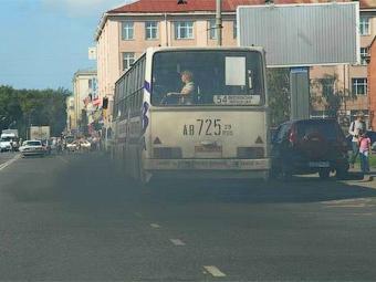 С 2010 года московские автобусы перестанут дымить