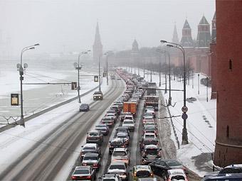 В Москве ограничат движение из-за Общероссийской елки