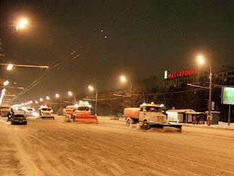 В Москве во время снегопадов будут запрещать парковку